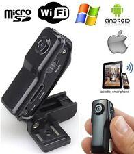 Mini camera espion WiFi Android iPhone tablette babycam vidéo Micro SD USB
