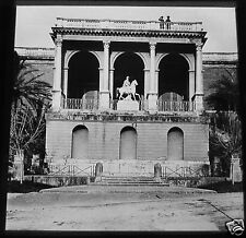 Glass Magic lantern slide MONTE PINCIO ROME C1900 ITALY ROMA