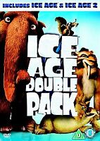 Ice Age/Ice Age 2 - The Meltdown (DVD, 2006, 2-Disc Set,new sealed freepost
