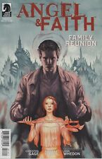 Angel & Faith #14 cover A comic book Tv show series Joss Whedon Willow Connor
