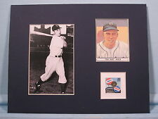 Brooklyn Dodger great Pee Wee Reese & stamp issued to honor the Subway Series