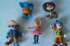 "Lof of 5 Disney Jojos' Circus PVC Figures (2-4"" tall) 5pcs"