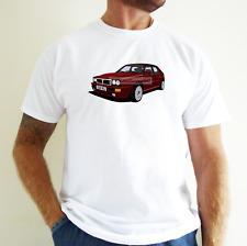 LANCIA INTEGRALE CAR ART T-SHIRT. PERSONALISE IT!