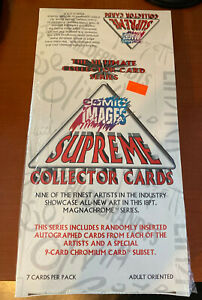 Comic Images Supreme Collector Cards.  Unopened Box.