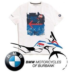 Iconic GS DAKAR T-Shirt Genuine BMW Motorrad Motorcycle STYLE