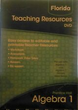 Prentice Hall Algebra 1 & Algebra 1 Honors Gold Teaching Resources DVD Software