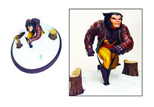 Diamond Select Toys Marvel Premier Collection: Wolverine in Snow Resin Statue
