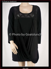 Taking Shape Draped Crossover Top Size 26 (XL) Winter NWOT