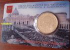 COIN CARD 2015 VATICANO 50 cent PAPA FRANCESCO Coincard POPE FRANCIS VATICAN BU