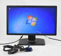 """Dell P2012Ht 20"""" LCD VGA DVI Monitor Grade B"""