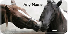 Horse Love Any Name Personalized Tag Novelty Car Auto License Plate