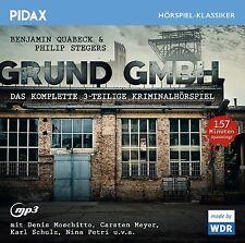 Grund GmbH * CD Kriminalhörspiel Benjamin Quabeck Philip Stegers MP3-CD Pidax