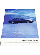 1997 BMW 328i Sedan 2-page- Vintage Advertisement Car Print Ad J406
