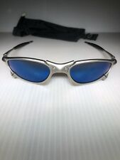 SERIALIZED-OAKLEY X-METAL PENNY SUNGLASSES TITANIUM(F)/ICE IRIDIUM LENSES-AS IS