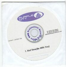 (EZ734) Purple City, First Time (Be With You) - DJ CD