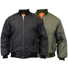 Unbranded Bomber Regular Size Coats & Jackets for Men