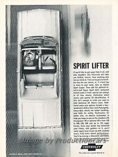 1963 Chevrolet Impala SS Convertible Advertisement Print Art Car Ad J784