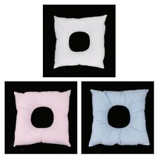 Perfeclan 3Pcs Square Massage Bed Table Face Cradle Cushion Pillow with Hole