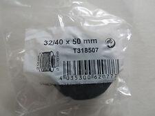 Gummi Gewindenippel   32/40 x 50 mm Ablauf verbinder  Siphon Dichtung