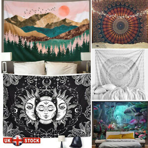 Large Indian Tapestry Wall Hanging Mandala Hippie Gypsy Bedspread Bohemian Cover