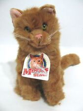 Morris The 9 Lives Plush Cat Talking Doll Ginger Kitty Works w/ Tag Collectable