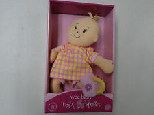 NIP MANHATTAN TOY COMPANY WEE BABY BY BABY STELLA PLUSH DOLL  MAGNETIC PURSE