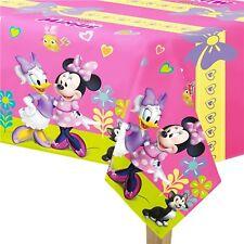 Filles Disney Rose Minnie Mouse Fête D'Anniversaire Célébration Vaisselle Nappe