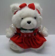 1996 DAYTON CHRISTMAS MRS MISS SANTA BEAR CLEAN NO ODORS