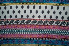 Multicolor Ethnic ITY Print #306 Stretch Polyester Lycra Spandex Fabric BTY