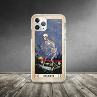 Death Card Vintage Tarot Horror Case For iPhone XR 11 Pro Xs Max X 8 7 6 6s Plus
