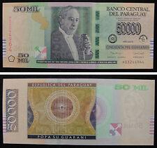 Paraguay Banknote 50000 Guaranies 2015 UNC
