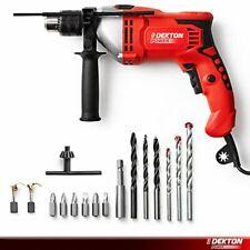 Dekton 1050W Electric Impact Hammer Drill Driver Screwdriver 240V New