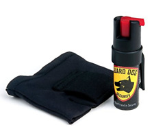Guard Dog Instafire Runners Pepper Spray-Sweat Resistant Carrier-Fits in Hand