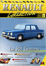 FASCICULE 5 M6 LA COLLECTION RENAULT 8 R8 + FICHE TECHNIQUE (MINI POSTER A4)