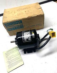 BODINE MOTORS - 1/50 HP Motor - Type NSH-12 Cont. Motor - 115V, .33A - NEW