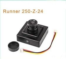 Walkera Runner 250-Z-24 RC Parte FPV PAL 800TVL HD mini macchina fotograf F15896