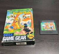 SEGA GAME GEAR DONALD DUCK the lucky dime Caper with Box Tested