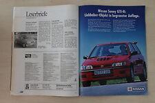 Nissan Sunny GTI-R 220PS - Anzeige/Werbung