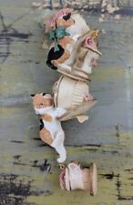 """Katherine's Collection 6"""" Holiday Christmas Ornament Cats Hanging Plates Cups"""