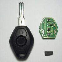 EWS Remote Key For BMW 3 5 7 Series E38 E39 E46 433MHZ/315MHZ W/Chip HU58 3BTN