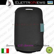 Custodia Copribatteria Samsung GT-S5570 Galaxy Next flip orizzontale