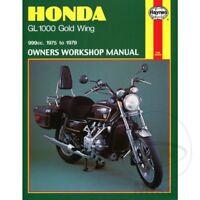 Honda GL 1000 LTD Goldwing 1976 Haynes Service Repair Manual 0309