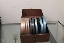 Lot Of 9 Super 8 mm Home Movies Film Vacation Holiday Camp Canada 1963