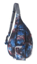 NWT KAVU Rope Sling Bag Polyester Crossbody Shoulder Hiking Backpack Galaxy Pack