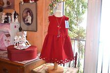 robe neuve tartine et chocolat 4 ans rouge collier offert superbe a ne pas loupe