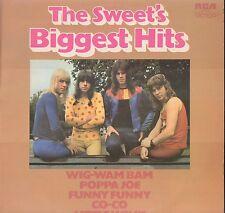 SWEET The Sweet's Biggest Hits UK RCA Wig Wam Bam LITTLE WILLY Poppa Joe JEANIE
