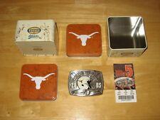 Texas Longhorn Football Memorabilia Lot  [ Sports Illustated Newspapers Fossil ]