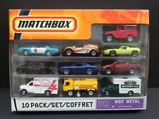 Matchbox P3024 10 pack Set Red/Wht Toyota Land Cruiser FJ40 Exclusive 2008