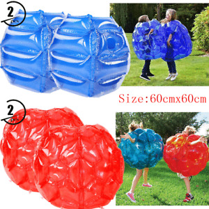 2X Inflatable Bubble Environmentally Friendly PVC Funny Body Zorb Ball For Kids
