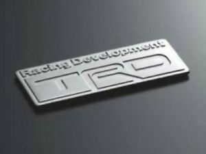 Genuine Toyota GT86 GT 86 TRD Badge Emblem MS010-00003 Original New Part